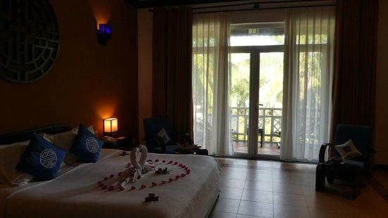 Hoi An Beach Resort: Nice honeymoon welcome