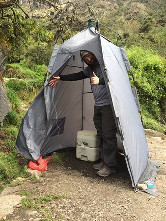 Alpaca Expeditions the toilet tent & the toilet tent - Picture of Alpaca Expeditions Cusco - TripAdvisor