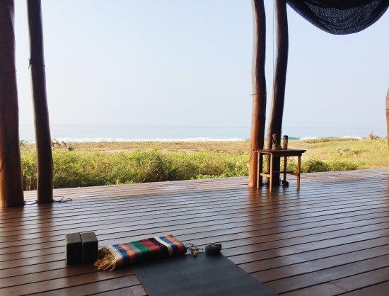 Playa Viva: Yoga Deck