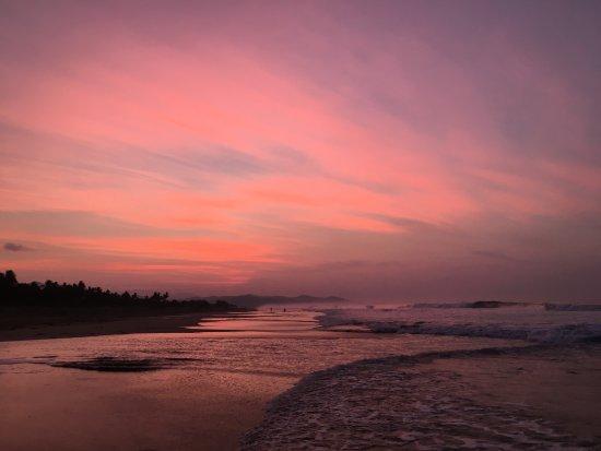 Playa Viva: Sunset