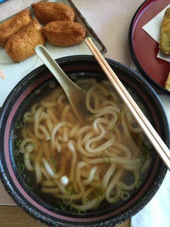Japantown (San Jose): Kazoo's udon noodles. Lunch special. Yum.