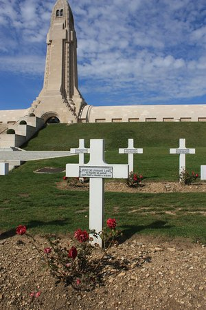 Douaumont, Francia: Roses for every soldier