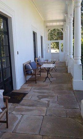 Hagley, Australia: Front porch