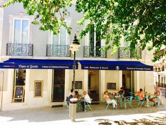 Chipie La Galette Lisbon, resto terrace
