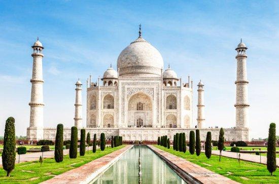 Taj Mahal tur på en enkelt dag med tog...