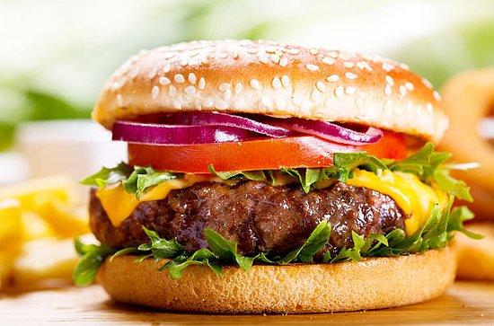 Joue-les-Tours, France: hamburger