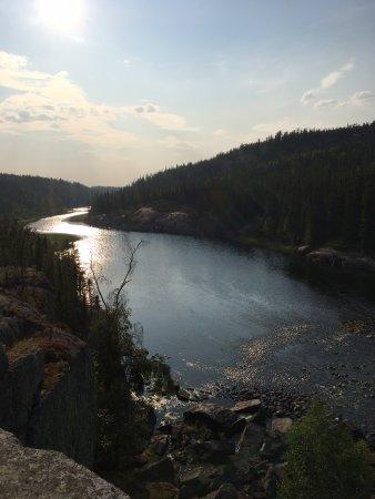 Cameron River Falls Trail Foto