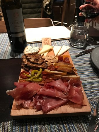 Shrewsbury, NJ: My favorite - the Mixto Board with meats and cheeses
