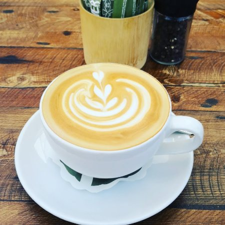 Double flat white - such good coffee