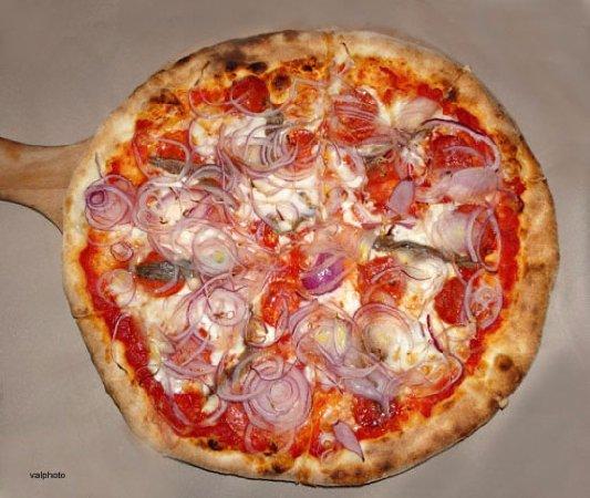 Da Puccio Restaurant: Spicy Pizza