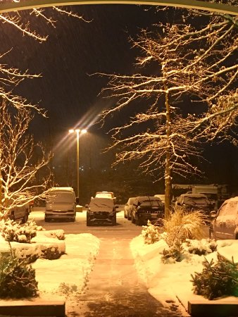Holiday Inn Wilkes Barre East Mountain: Parking Right Outside Front Entrance