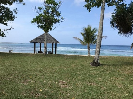Eratap Beach Resort: view from the villa