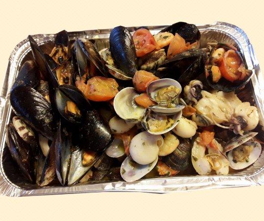 Volpiano, Italia: Preparazione da Asporto - Zuppa di pesce
