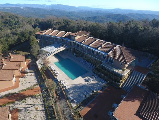 Relais I Piastroni : Foto aerea area Spa e Suite