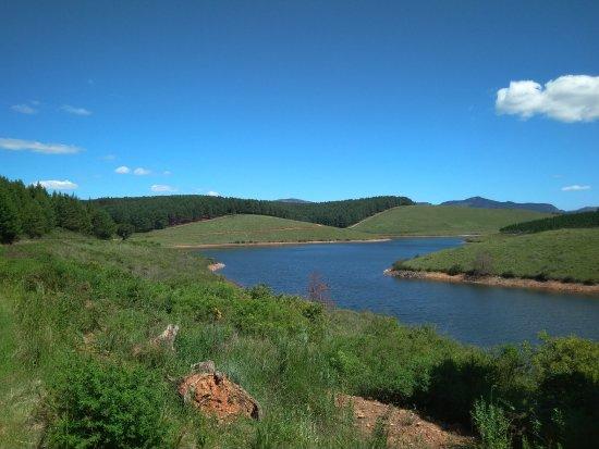 Haenertsburg, جنوب أفريقيا: View of dam