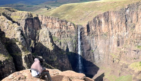 Roma Trading Post Lodge: The high pastures around the Maletsunyane Falls, Africa's highest