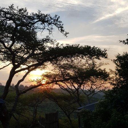 Sunset at the Bush Lodge