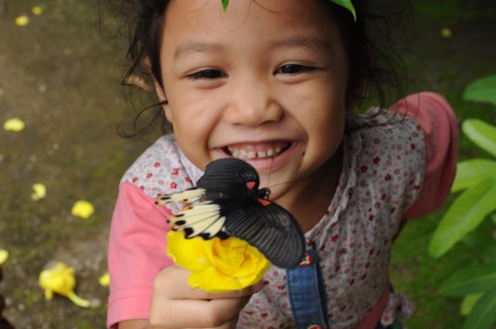 Luang Namtha, Laos: Mono is the lovely daughter of Thong the owner of FRL