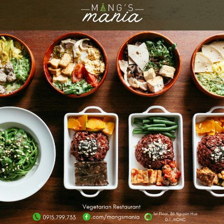 Mang S Mania An Interesting Variety Of Vietnamese Vegetarian Food In The Center Ho Chi