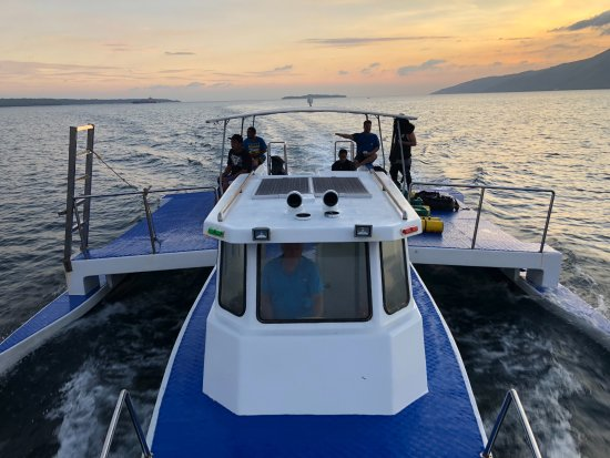 Subic, Filipina: Most awesome tec boat ever