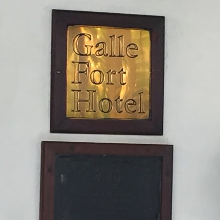 Galle Fort Hotel: photo0.jpg