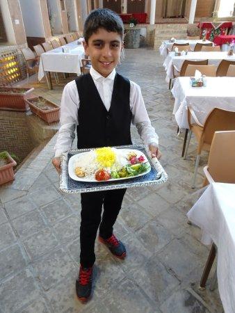 Negin restaurant: まだ11歳だそうです