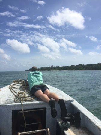Hoga Island, Indonesia: Island tour