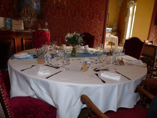 Noyant-de-Touraine, Francia: dans la salle à manger
