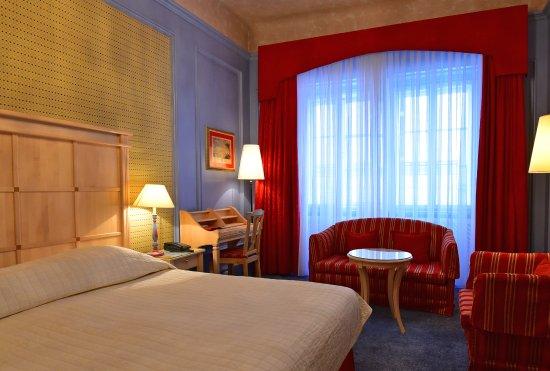 Hotel Konig Von Ungarn: A classic double room.