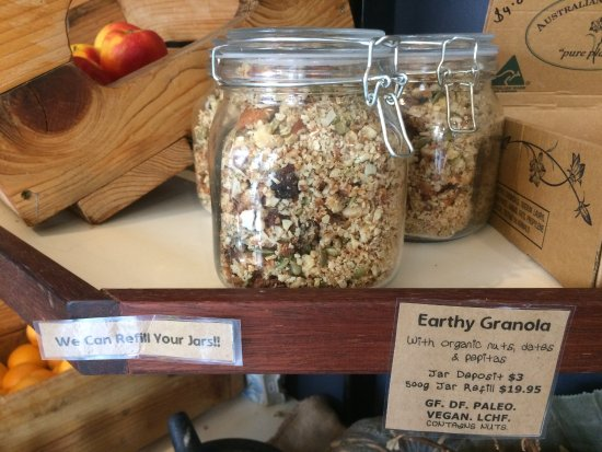 Earthy Eats: Jar refills available!