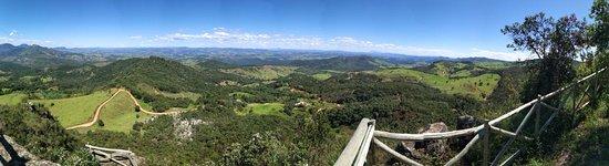 Santa Maria de Itabira, MG: Vista de um dos mirantes!