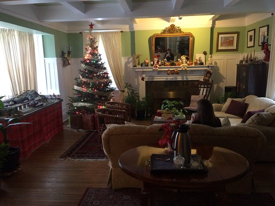 Springbank House: The amazing living room - everything was so comfortable