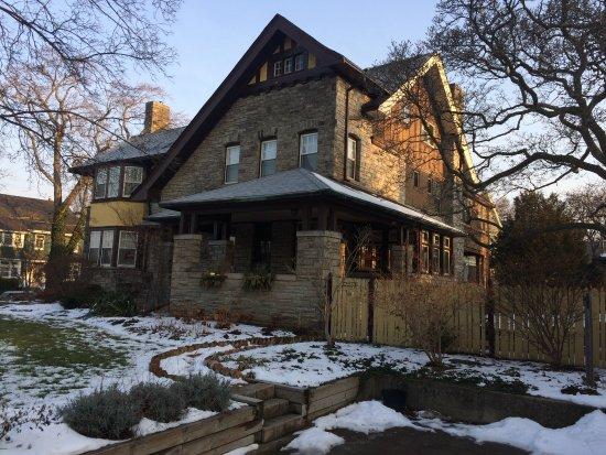 The Springbank House Inn - early AM in January
