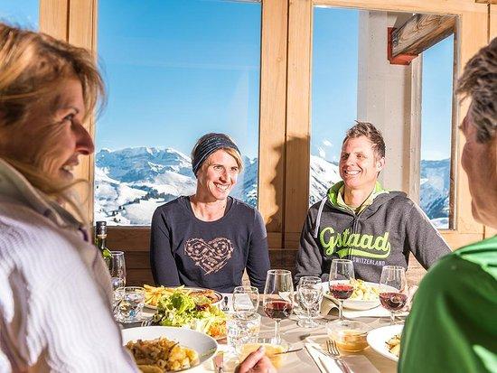 Saanenmoser, Schweiz: Saanerslochgrat