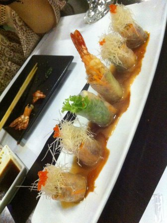 Nippon Japanese Restaurant: Ορεκτικό σούσι