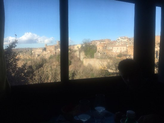 Faleria, إيطاليا: Panorama dalla sala interna