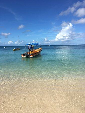 South Coast, Grenada: Water taxi to Grand Anse Beach