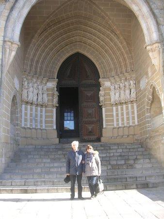 Sé Catedral de Évora : portale ingresso Cè (cattedrale)