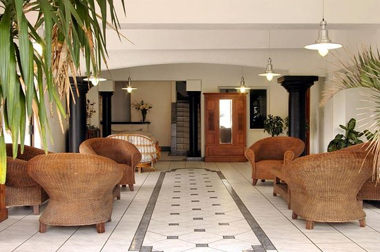 Mountjoy Guest Lodge's reception area