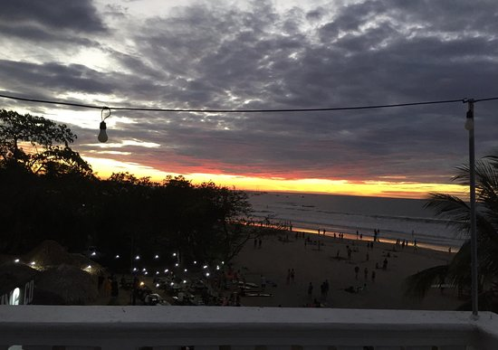 Witch's Rock Surf Camp: View every night from the penthouse deck.