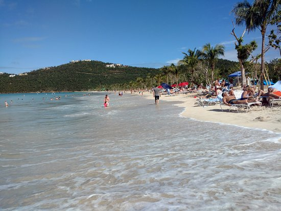 Magens Bay Beach Jan 8 2018