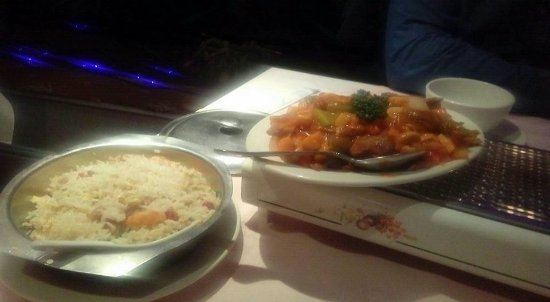 Chicken Szechuan And Young Chow Fried Rice Picture Of Golden