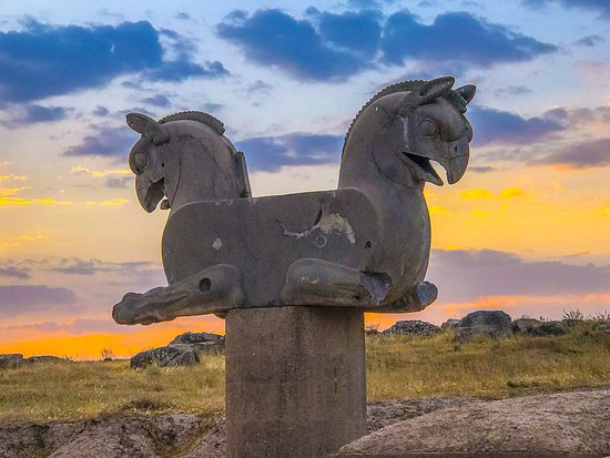 The Griffin Located In Persepolis Picture Of Shiraz Tripadvisor