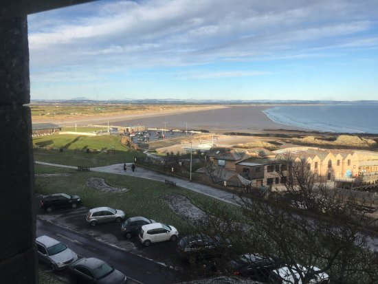 Hotel Du Vin: View from Room Ardmore on Sat 20th Jan 2018 West Beach & the Old Course.