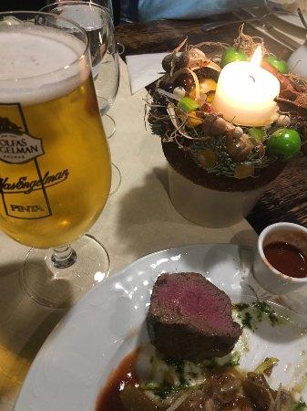 Medziotoju Uzeiga: стейк из оленины был прекрасен