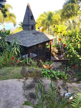 Aloha Guest House: Private gazebo for those in the Kohola Suite to use.