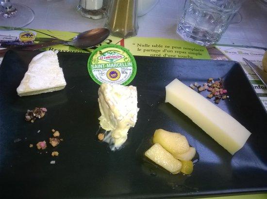 Chatte, França: Ardoise de fromage