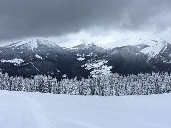 Station de ski d'Avoriaz : В пасмурную погоду