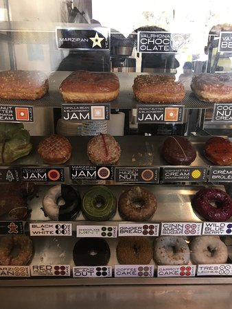 Doughnut Plant: a selection of doughnuts available