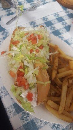 Kernersville, Carolina del Norte: chicken salad sandwich